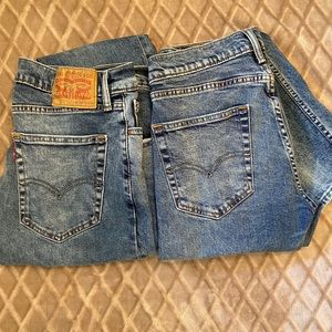 "Men's Levi 512 Slim Tapered Jeans 34"" X 34"" Bundle"